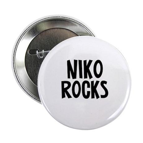 "Niko Rocks 2.25"" Button (10 pack)"