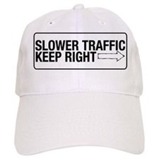 Slower Traffic Baseball Cap
