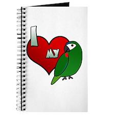 I Love my Hahn's Macaw Journal