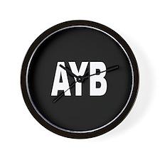 AYB Wall Clock