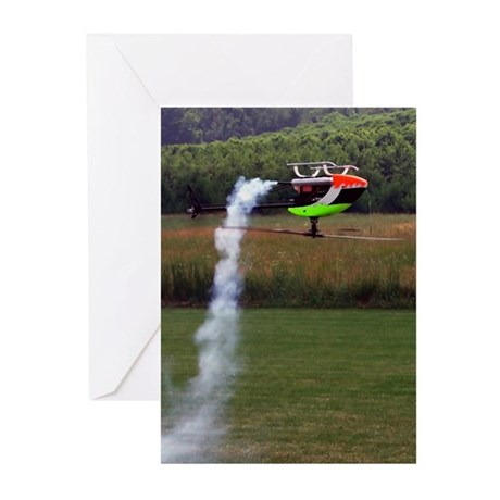 RC Helicopter Greeting Cards (Pk of 10)