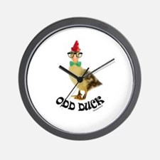 Odd Duck Wall Clock