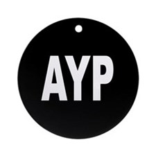 AYP Ornament (Round)