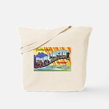 Burlington Vermont Greetings Tote Bag