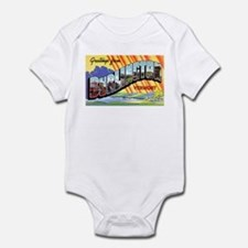 Burlington Vermont Greetings Infant Bodysuit