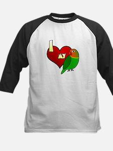 I Love my Fischer's Lovebird Tee