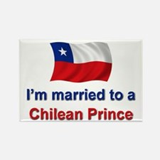 Married to Chilean Prince Rectangle Magnet