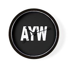 AYW Wall Clock