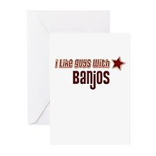I like guys with Banjos Greeting Cards (Pk of 10)