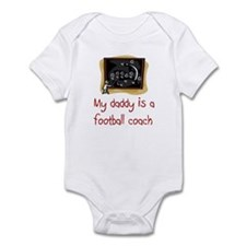 Football Coach Infant Bodysuit