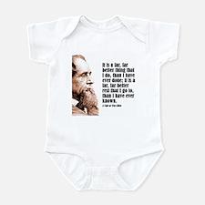 """Dickens """"Far Better"""" Infant Bodysuit"""