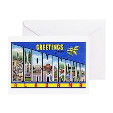 Birmingham Alabama Greetings Greeting Card