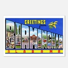 Birmingham Alabama Greetings Postcards (Package of