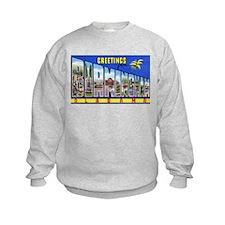 Birmingham Alabama Greetings (Front) Sweatshirt