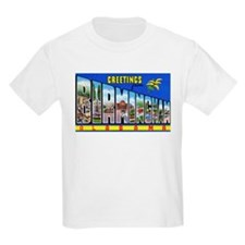 Birmingham Alabama Greetings (Front) T-Shirt