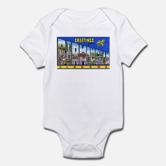 Birmingham Alabama Greetings Infant Bodysuit