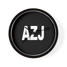 AZJ Wall Clock