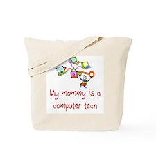 Computer Tech Tote Bag