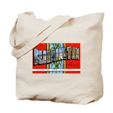 Bloomington Illinois Greetings Tote Bag
