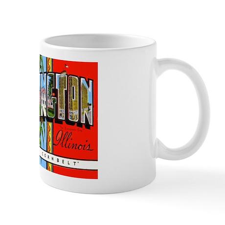 Bloomington Illinois Greetings Mug