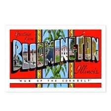 Bloomington Illinois Greetings Postcards (Package