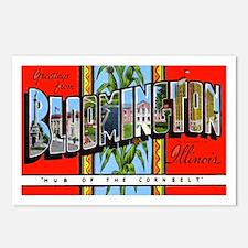 Bloomington Illinois Greetings Postcards (Package