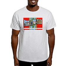 Bloomington Illinois Greetings (Front) T-Shirt