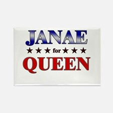 JANAE for queen Rectangle Magnet