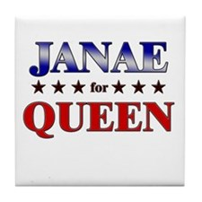 JANAE for queen Tile Coaster