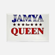 JAMYA for queen Rectangle Magnet
