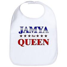 JAMYA for queen Bib