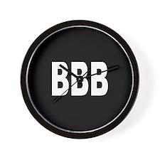 BBB Wall Clock
