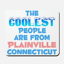 Coolest: Plainville, CT Mousepad