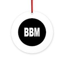 BBM Ornament (Round)