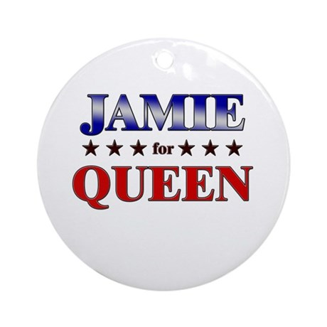JAMIE for queen Ornament (Round)