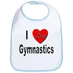 I Love Gymnastics Bib