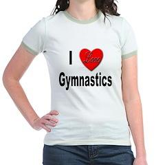 I Love Gymnastics (Front) T