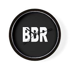 BBR Wall Clock