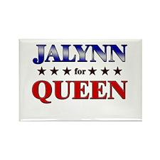 JALYNN for queen Rectangle Magnet