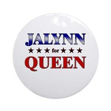 JALYNN for queen Ornament (Round)