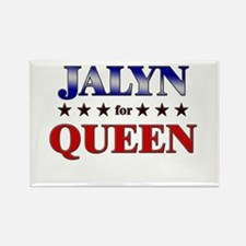 JALYN for queen Rectangle Magnet
