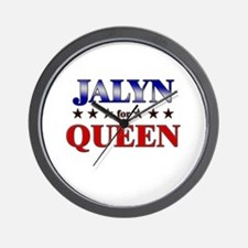 JALYN for queen Wall Clock