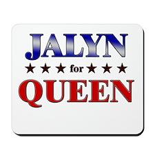 JALYN for queen Mousepad
