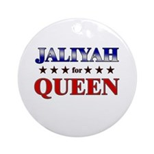 JALIYAH for queen Ornament (Round)