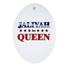 JALIYAH for queen Oval Ornament