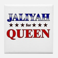 JALIYAH for queen Tile Coaster