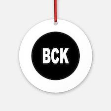 BCK Ornament (Round)