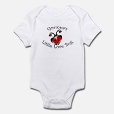 Grampa's Love Bug Ladybug  Infant Bodysuit