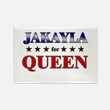 JAKAYLA for queen Rectangle Magnet