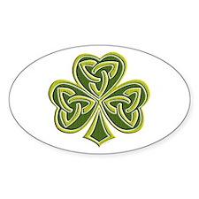 Celtic Trinity Oval Decal